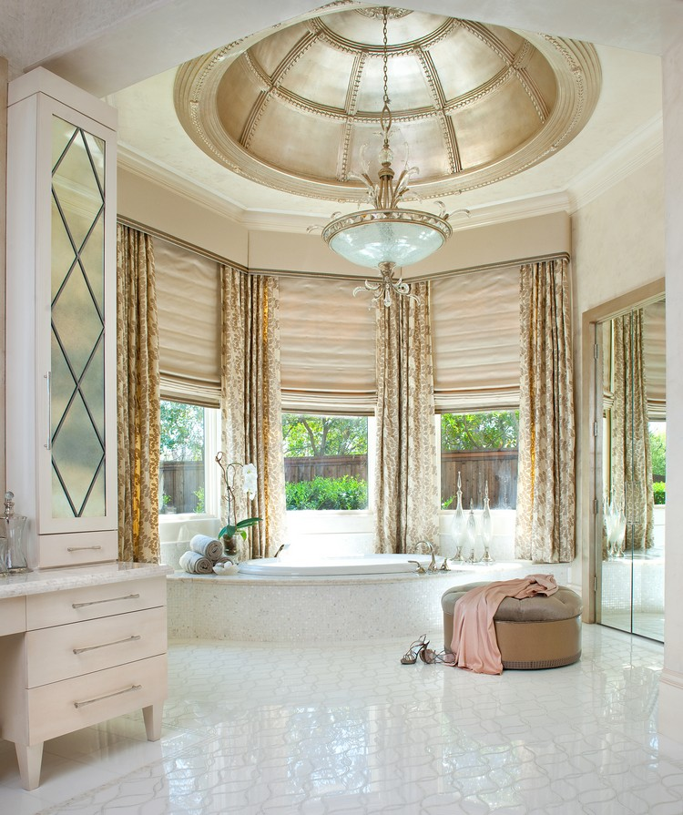 Home decorating ideas – luxury residence by Dallas Design Group Master bathroom home inspiration ideas