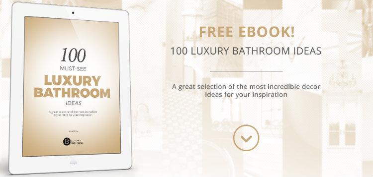 luxury bathrooms ebook home inspiration ideas