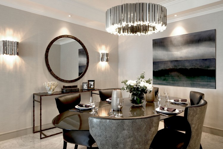Laura Hammet luxury dining room design ideas home inspiration ideas