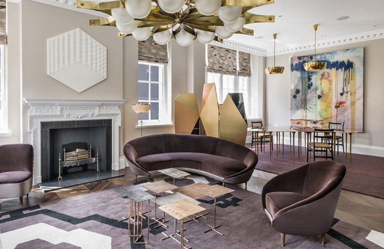 Interior Design Styles  eclectic interiors in London by Shalini Misra -  Living Room ideas at