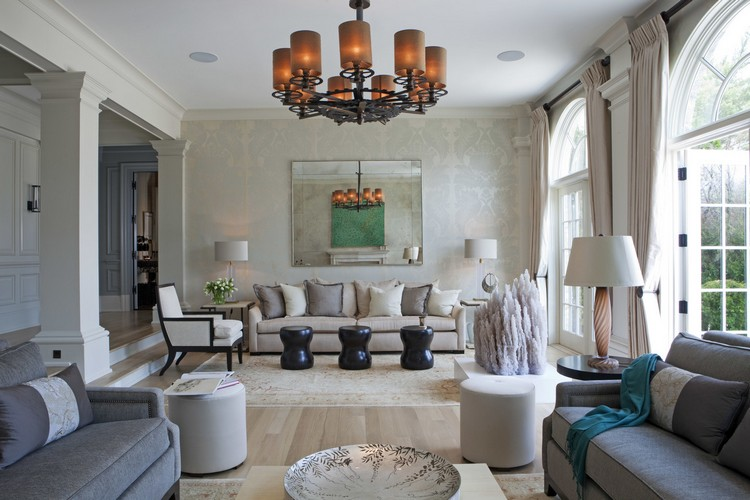 Interior design styles - Greenwich traditional living room decor ideas by Taylor Howes home inspiration ideas