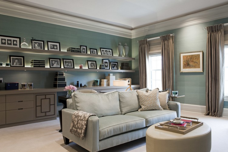 Interior design styles - Greenwich traditional office decor ideas by Taylor Howes home inspiration ideas