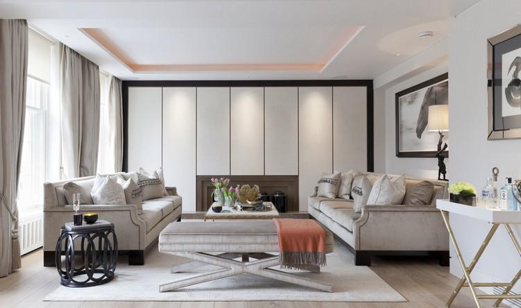 Interior design styles - One Kensington Gardens contemporary living room decor ideas by Taylor Howes (1) home inspiration ideas