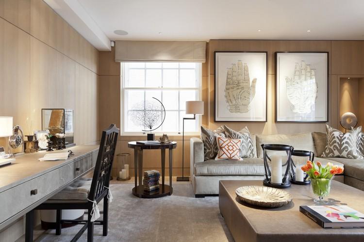 Interior design styles - One Kensington Gardens contemporary living room decor ideas by Taylor Howes (2) home inspiration ideas