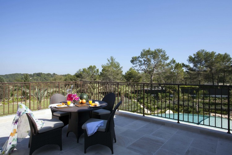 Architecture landscape in outdoor South France Villa designed by Taylor Howes home inspiration ideas
