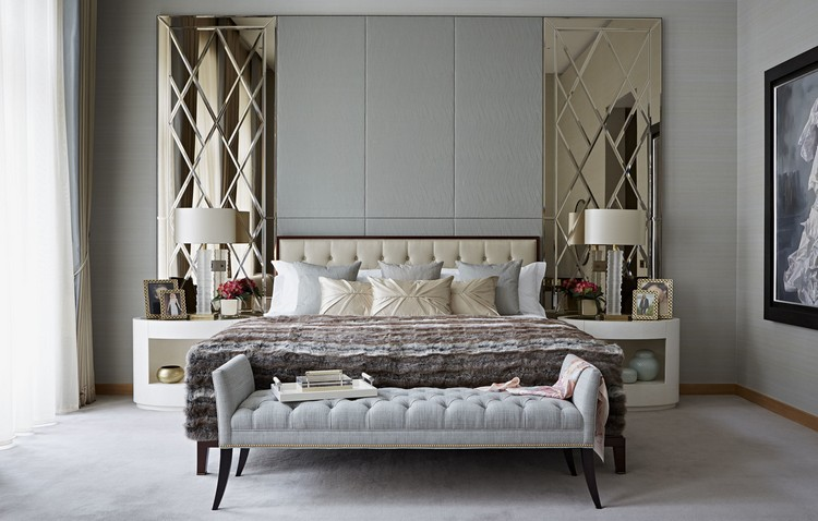 Interior design styles - contemporary bedroom decor ideas by Taylor Howes (2) home inspiration ideas