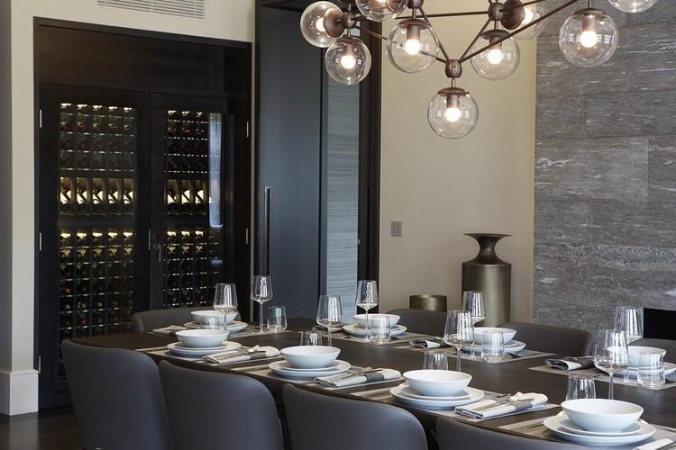 Dininig room decor ideas by Staffan Tollgard