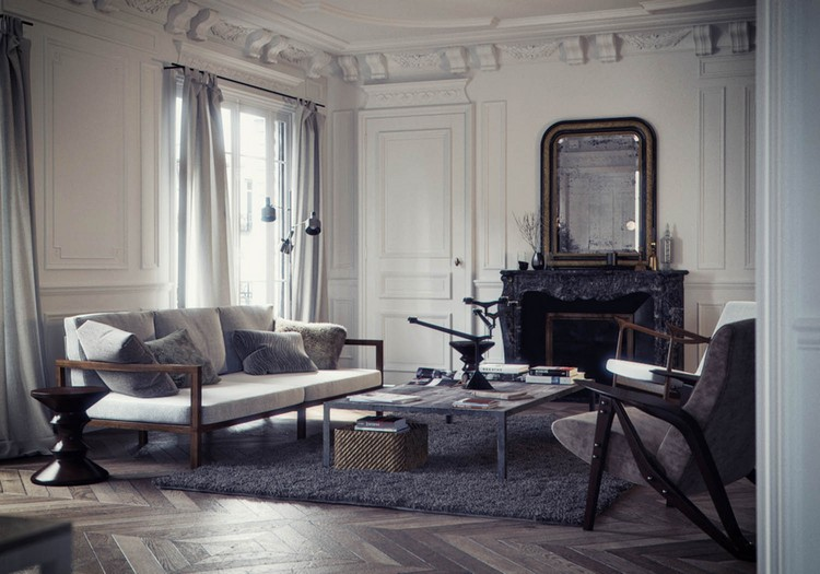 show-stopping luxury Paris apartments (2) home inspiration ideas