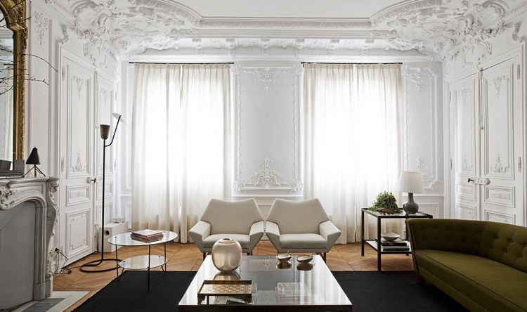 show-stopping luxury Paris apartments designed by Luis Laplace home inspiration ideas