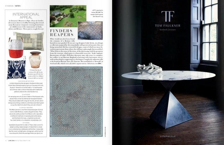 Best Interior design magazines at Decorex House & Garden home inspiration ideas