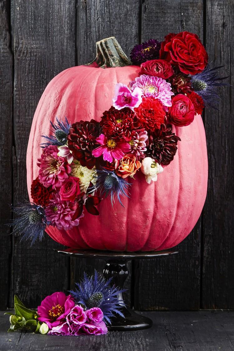 Pink pumpkin decorating ideas home inspiration ideas