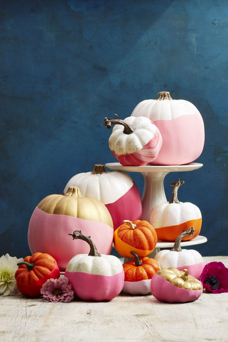 Colorful balloons pumpkin ideas  home inspiration ideas