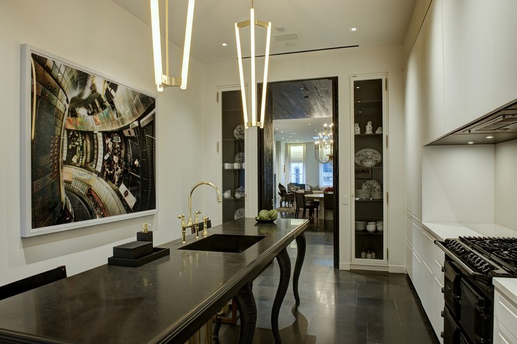 Kara Mann ecletic modern kitchen design home inspiration ideas