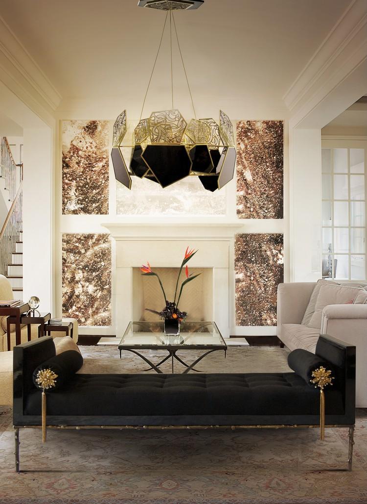 Living room Chandelier - Hypnotic home inspiration ideas