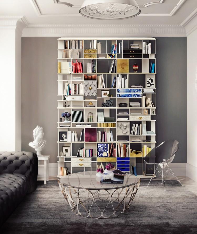 Bookcase living room ideas Boca do Lobo COLLECIONISTA home inspiration ideas