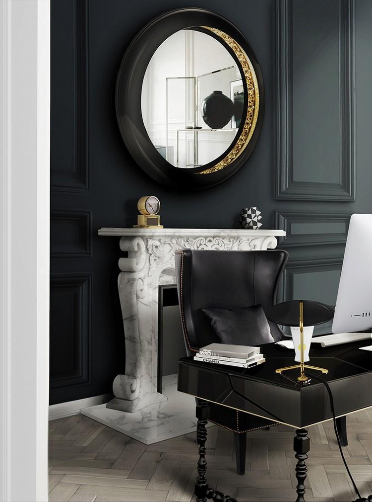 DUKONO black chair - office ideas home inspiration ideas