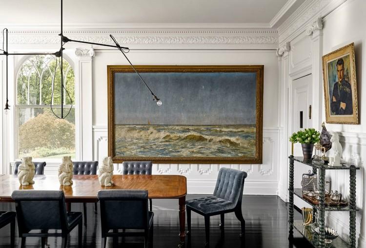 Mahogany rectangular dining  table home inspiration ideas