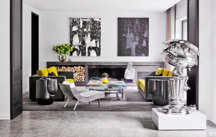 Charles Zana midcentury home home inspiration ideas