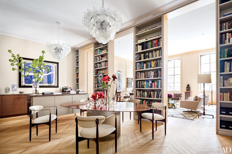 New York loft by Lucien Rees Roberts home inspiration ideas