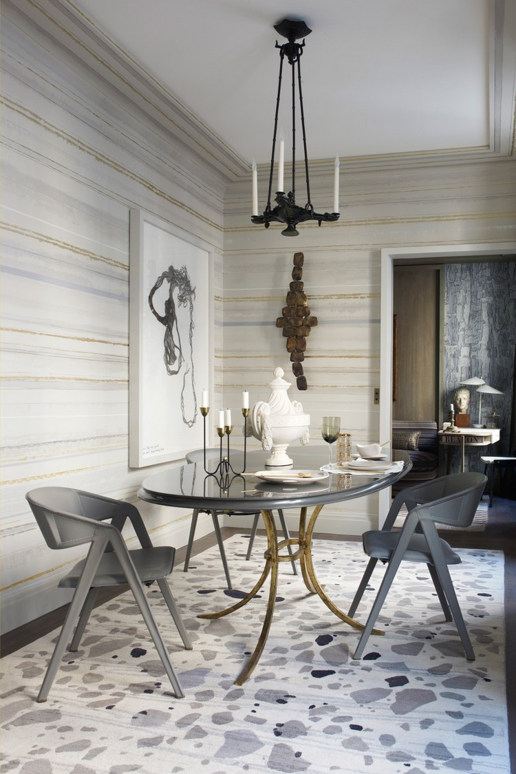 Neutral dining room decorating ideas home inspiration ideas