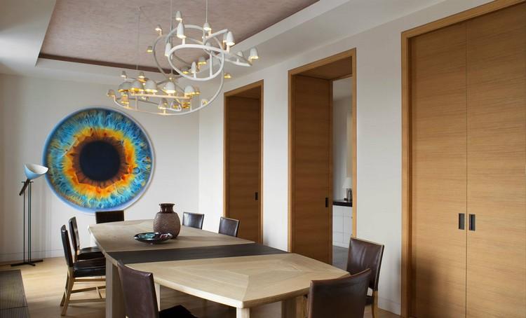 Paris aparment dining room inspiration home inspiration ideas