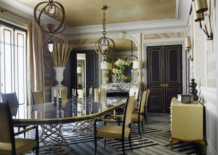 Paris apartment interior design decor by Jean Louis Deniot home inspiration ideas