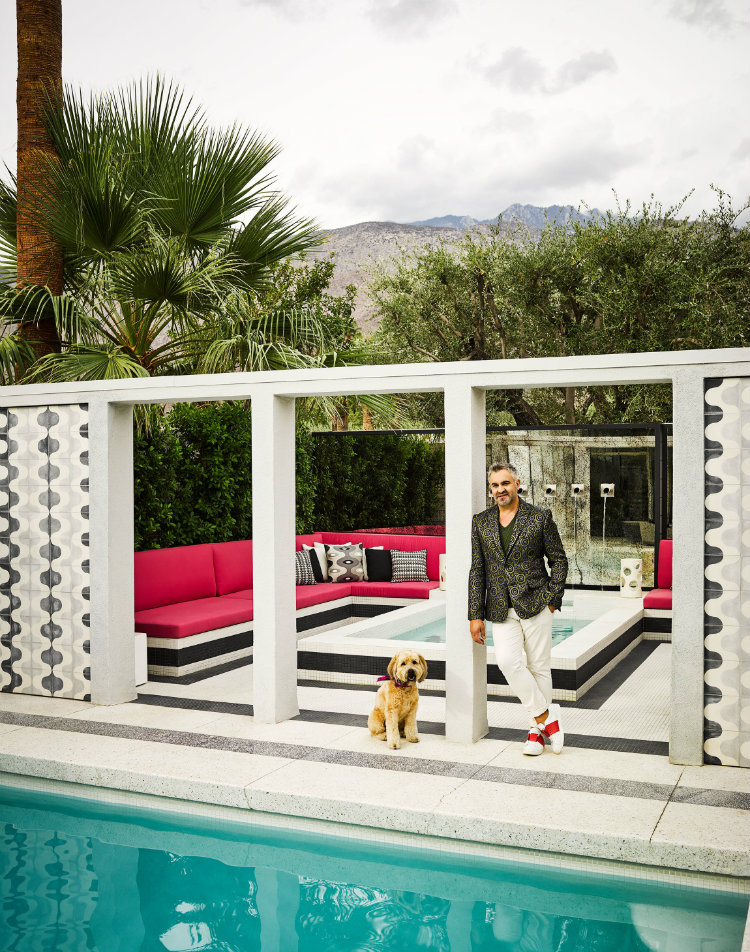 Martyn Lawrence Bullard Palm Spring house home inspiration ideas