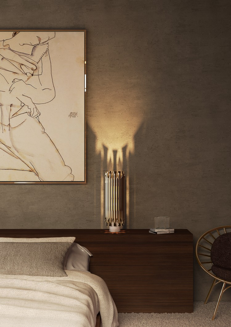 Midcentury bedroom lighting ideas by Delightfull home inspiration ideas