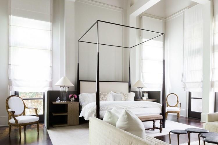Monochromatic bedroom decor ideas
