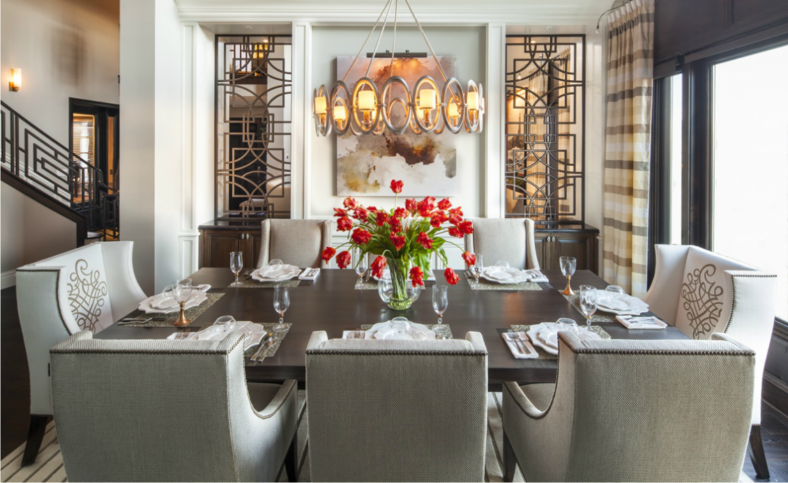 How to Create a Luxurious Dining Room Using Modern Lighting