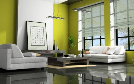 Living room decorating ideas – 10 unforgettable green interiors