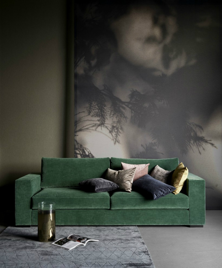 green sofa living room decorating ideas home inspiration ideas
