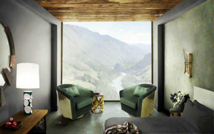 big window living room with green brabbu chairs living room decorating ideas home inspiration ideas
