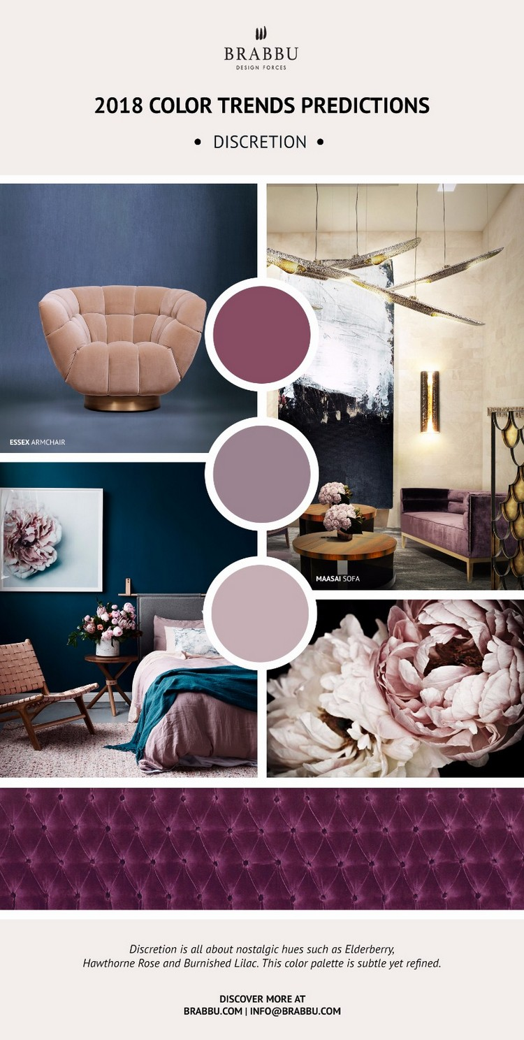 Meet The 2018 Color Trends for your home décor! home inspiration ideas