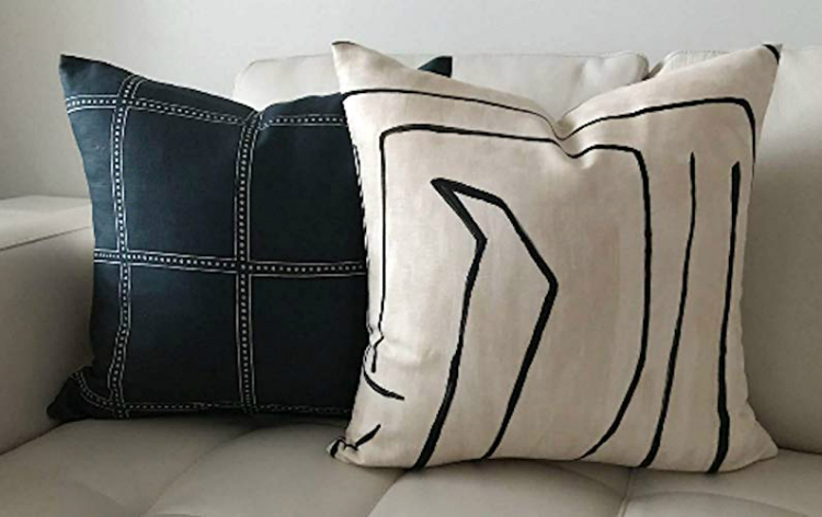 modern pillows home inspiration ideas