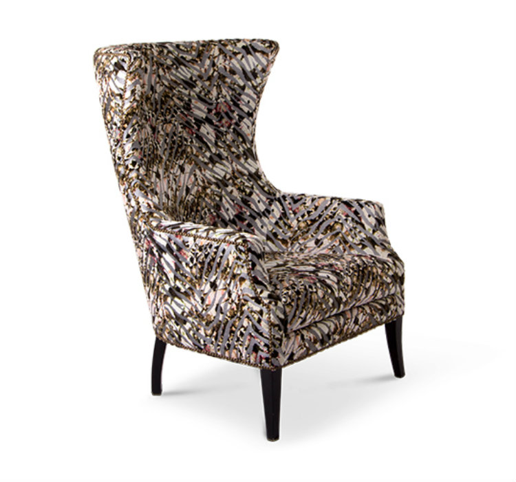 Pantone the Prints Charming Trend Dukono Armchair home inspiration ideas